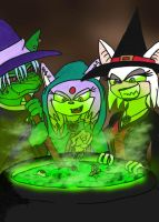 the three witches by queenmoreta