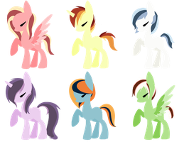 Minimal Pony Adopts by MaddieAdopts