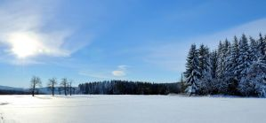 winter panorama by sys66
