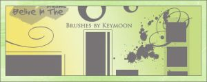 Forgotten Brushes by KeyMoon
