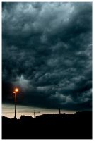 dark clouds by FlorianMecl