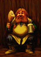 Bombur - colour version by TolmanCotton