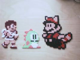 couple more hama sprites by tony-boi