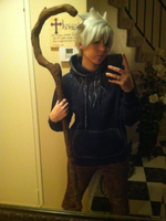 Jack Frost cosplay WIP by OurLivingLegacy