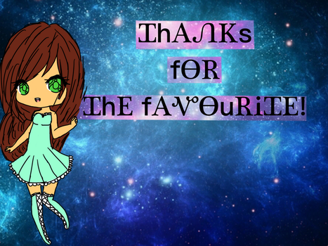 To everyone who favourited my art! by RiRi-Chan888