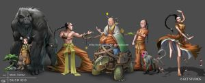 Monk - Faction by dinmoney