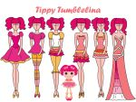 fashion commision: Tippy Tumblelina by Willemijn1991