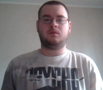Me Wearing A Psycho Shirt (color) by Killenberg