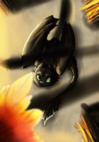 The First Leaf of Fall .:SPEEDPAINT:. by HTTYDsketch503