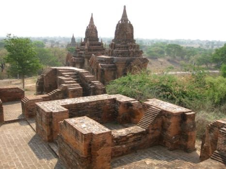 Temples and Stupas by fishswamp