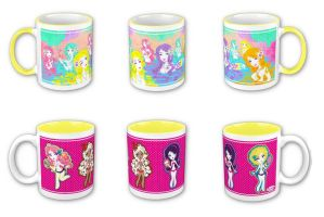 Hot Coco Mugs by Blush-Art
