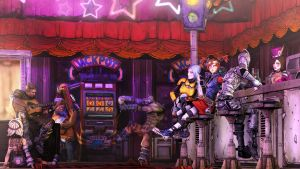 Moxxi's Bar by Yhrite