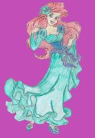 Springtime Ariel by LogicallyVulcan