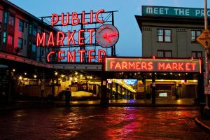 Pike Place Market by wilmil