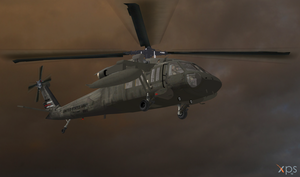 US Army UH-60 Blackhawk (XPS Updated) by bstylez