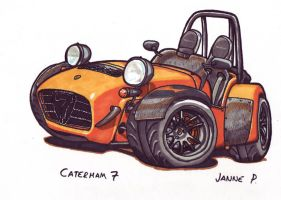 Caterham 7 by JIIP33