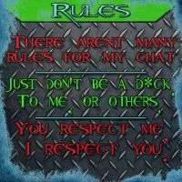 My Channel Panel- Rules by xGWExBrian