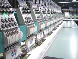 Embroidery Machine by Cobawsky