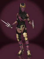 Mileena (Kahnum) by Sticklove