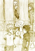 Making acquaintances by Sanzo-Sinclaire