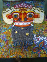 Barong (Balinese Mythology) by tirza1301