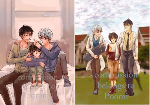 commission - BH6/ROTG Crossover by BonBonPich
