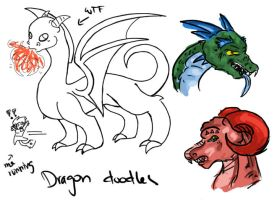 I can not draw Dragons by Kinla