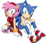 AMY AND SONIC by GaruGiroSonicShadow