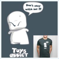 Toys addict T-shirt design by ultr4man