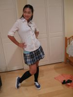 Private School  Girl 11 by imagine-stock