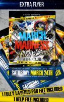 March Madness Flyer by LouisTwelve-Design