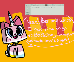 Q and A #33 by Princess-Unikitty