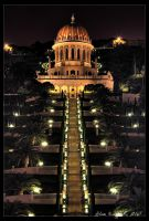 Baha'i Temple - HDR by Ildefonse