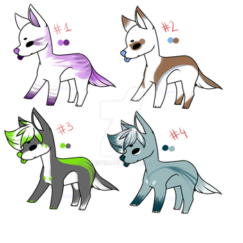 OTA Simple designs adopts batch 1 by LuCiiPeR