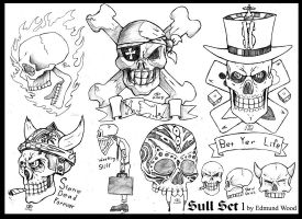 Skull Flash Sheet by nemesisenforcer