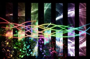 Abstract colorful wallpaper by Jindra12