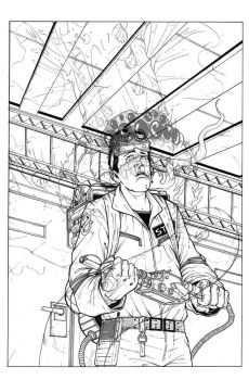 Ghostbusters Spec Cover Inked by anthonymarques
