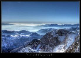 View from Falakro mountain by perixch24