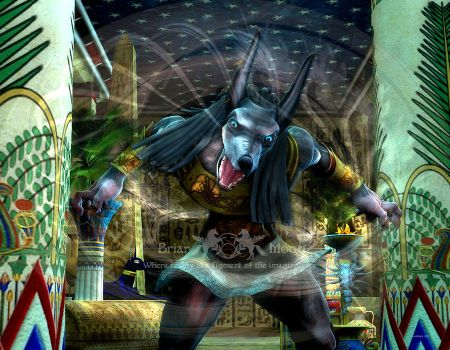 Anubis by Gina-Marie