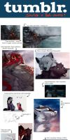 Art and Tumblr Sketch dump 2014 by Anerris