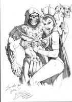 Skeletor loves Evil Lynn by RubusTheBarbarian