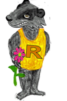 Rayzin The Badger 2 by Me2Smart4U