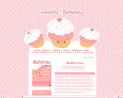 Cupcake Webstie Template by Ravenblade234