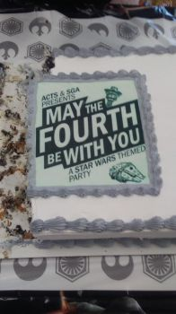 May the 4th be with you cake by RPCatgirl