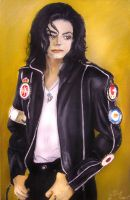 Michael Jackson 2 by arcitenens
