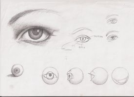 ways to draw eyes by ultraseven81