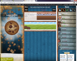 Really COOKIE CLICKER by M0ssie