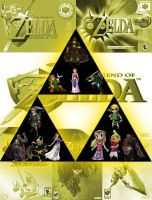 Legend of Zelda Collage by nakers97