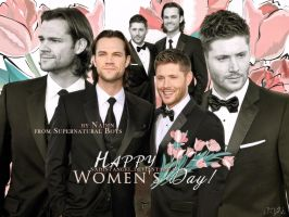 Happy Women's Supernatural Day! by Nadin7Angel