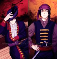 The Uchiha Pirates by xCluBearx